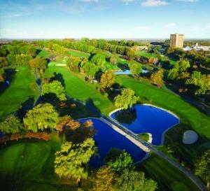 Pheasant Run Resort GolfAerial small